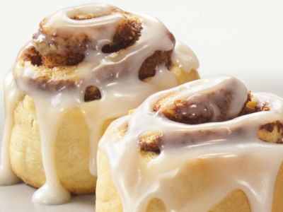 Of course our World Famous Cinnamon Rolls